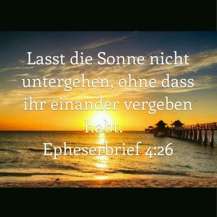 Epheser 4,26